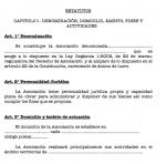 Estatutos asociación